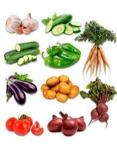 Caja verduras ecológicas de...