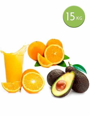 Caja Mixta 12 kg naranjas zumo y mesa...