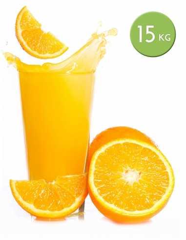 Naranjas de zumo de 15 kg.