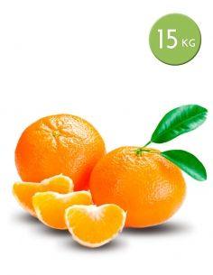 Mandarinas  de 15 kg.