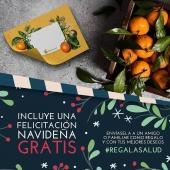 Love la Huerta felicita las Navidades en tu nombre. Manda tus mejores deseos en esta bonita tarjeta, junto a nuestros productos. Además, ahora tienes un 10% de descuento en tu primera compra