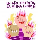 Hoy y siempre. Todos los días de nuestra vida. Feliz 8 de marzo!! Feliz Día Internacional de la Mujer!!!! 💜💜💜🍇🍆 #8m #8marzo #diadelamujer #lovelahuerta #lovewomen